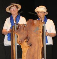 Elisabeth Bernhard und Waltraud Wegele